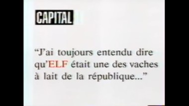 Les milliards de Elf – Capital 2001 – FRA